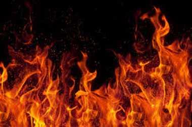 fire in fireworks shop