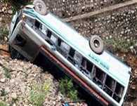 eight killed in bus accident