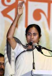 Sonia quiet fear, I will not be: Mamata