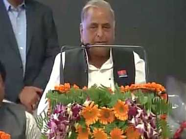 PM copying me by adopting villages, building toilets: Mulayam