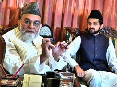 Syed Shaban Imam Bukhari became the Naib Shahi Imam