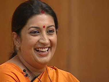sanskrit will not be compulsory, says smriti