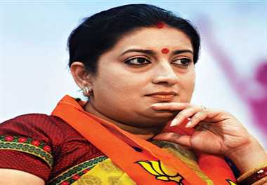 smriti have to go through interview for children's admission