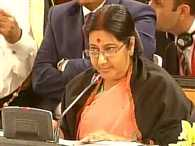 Swaraj tells Arab League We must delink religion from terror