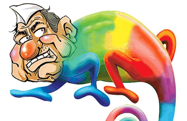 विधानसभा चुनाव के दौरान घड़ी-घड़ी रंग और पार्टी बदल रहे नेता