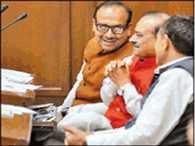 BJP Legislative saw poor in the Delhi  Assembly