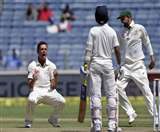 India Australia Pune test third day preview web
