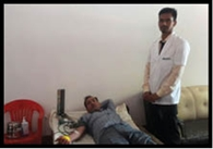 शहीद दिवस पर चमरावल युवाओं ने किया रक्तदान