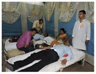 मेंस यूनियन के शिविर में 50 ने दिया रक्त