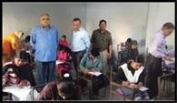 डीएम, एसडीएम ने परीक्षा केंद्रों पर मारे छापे