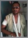 युवक पर कुल्हाड़ी से हमला, घायल