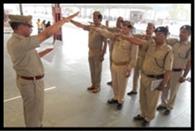 रेलवे पुलिस ने लिया स्वच्छता का संकल्प