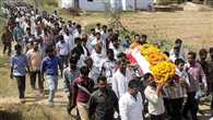 on each face pain in funeral of Gajendra, every eye tear spills