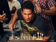 Sachin Tendulkar celebrates his 42nd birthday