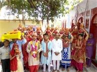 गरथेड़ू में श्रीमदभागवत कथा सप्ताह आरंभ