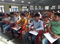 आकाश संस्थान ने प्रवेश परीक्षाओं की तैयारी के गुर दिए