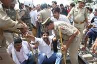 Gujjar quota stir: Protesters continue agitation block NH 11