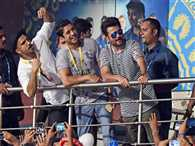 Film stars watching ipl final in kolkata
