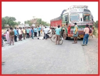 road accident is two death