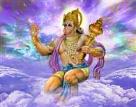 So today service by worshiping Hanuman Smsta desires are met