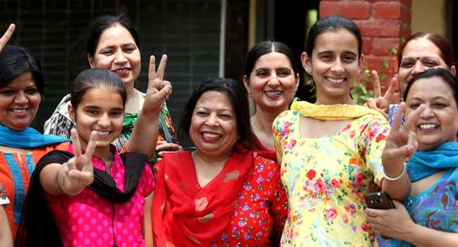 Ludhiana is Top among 10th result of State
