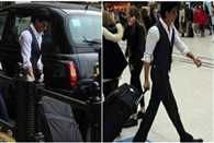 Shahrukh walked Through A Crowded London Station and Went Unnoticed