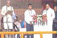 Sarbananda Sonowal take oath of Assam Chief Minister
