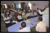 ग्राम प्रधानों को दिया गांवों की विकास योजनाओं का प्रशिक्षण
