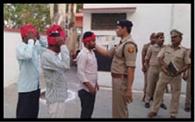 पुलिस अधीक्षक ने बीट मजबूती पर दिया जोर