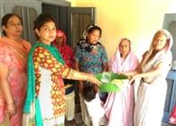 कुष्ठ आश्रम शेखपुरा में लगाया मेडिकल कैंप