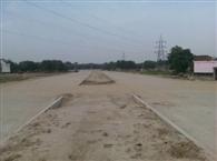 वाजिदपुर में रिंग रोड निर्माण से पंचक्रोशी मार्ग बाधित