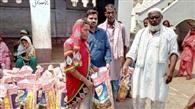 50 जरूरतमंदों को दिया गया रमजान किट