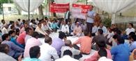 सभा कर बिजली कर्मियों ने बनाई रणनीति