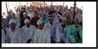रमजान माह के अलविदा जुम्मे की नमाज अदा की
