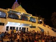 जय श्री जगन्नाथ के जयकारे से गूंजा मंदिर प्रांगण