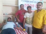 डॉ. श्यामाप्रसाद मुखर्जी की पुण्यतिथि पर रक्तसंग्रह