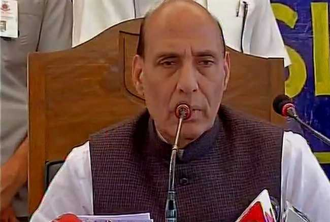 Have asked the security forces to refrain from using pellet guns as much as possible says Rajnath Singh