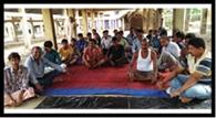 ग्रामीणों ने किया शराब दुकान खोलने का विरोध