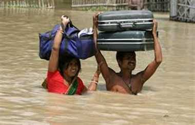 Flood situation remains grim in parts of UP, Bihar