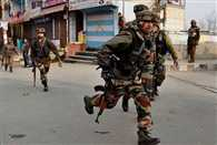 Nine security personnel injured after a Militant attack in Pulwama