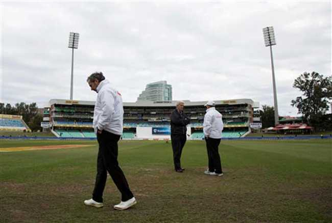 First test between South Africa and New Zealand draw