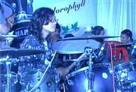 Shrishti Patidar of Indore plays drums for more than 24 hours, breaks world record