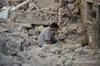earthquake hits central italy