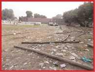 garbage spread after diwali