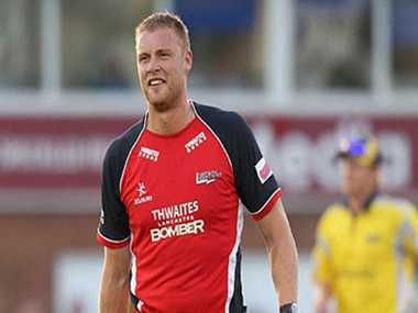 Andrew Flintoff will play for Brisbane in the T20 league