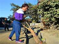Mary Kom join Clean India campaign