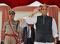 india wants peace with respect: rajnath