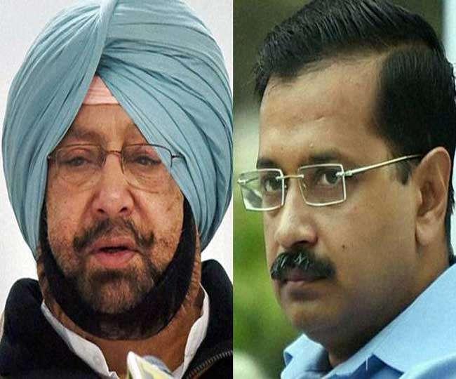 Tweet war between Captain Amarinder and arvind kejriwal