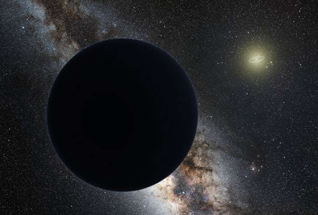 Planet Nine may be responsible for tilting the Sun