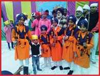 guru teg bahadur birthday celebrate
